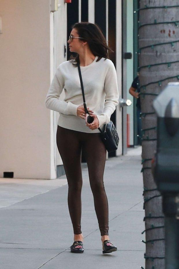 Nina Dobrev: Shopping in Beverly Hills -01