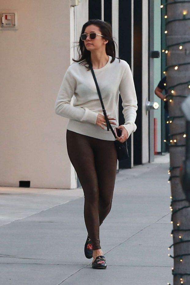 Nina Dobrev - Shopping in Beverly Hills