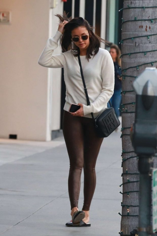 Nina Dobrev: Shopping in Beverly Hills -03