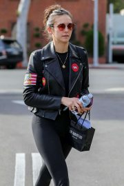 Nina Dobrev - Shops at XIV Karats in Beverly Hills