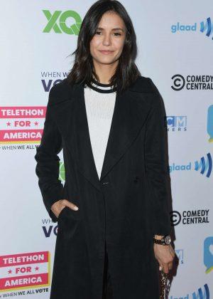Nina Dobrev - Telethon For America at YouTube Space LA in Los Angeles