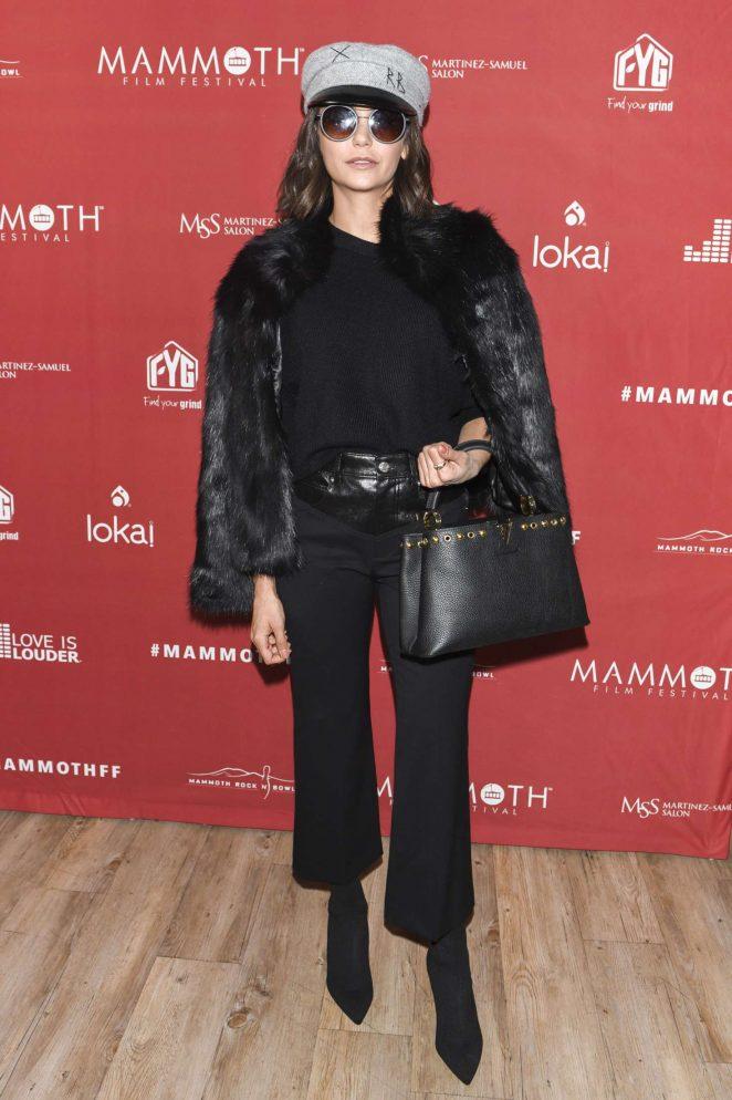 Nina Dobrev - The Inaugural Mammoth Film Festival in Mammoth Lakes