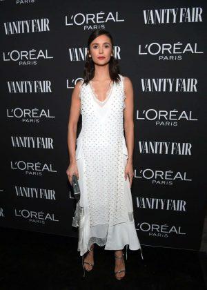 Nina Dobrev - Vanity Fair and L'Oreal Paris Celebrate New Hollywood in LA
