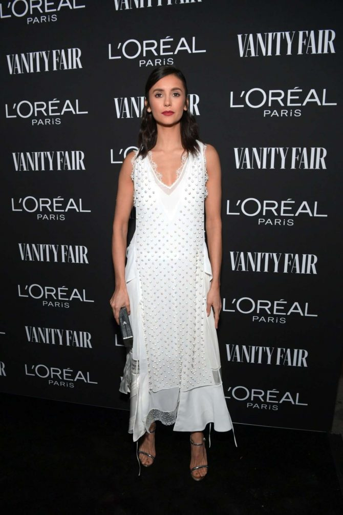 Nina Dobrev – Vanity Fair and L'Oreal Paris Celebrate New Hollywood in LA