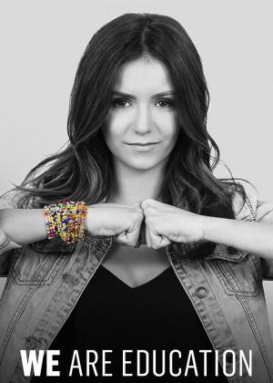 Nina Dobrev - We Are Stronger Together 2015