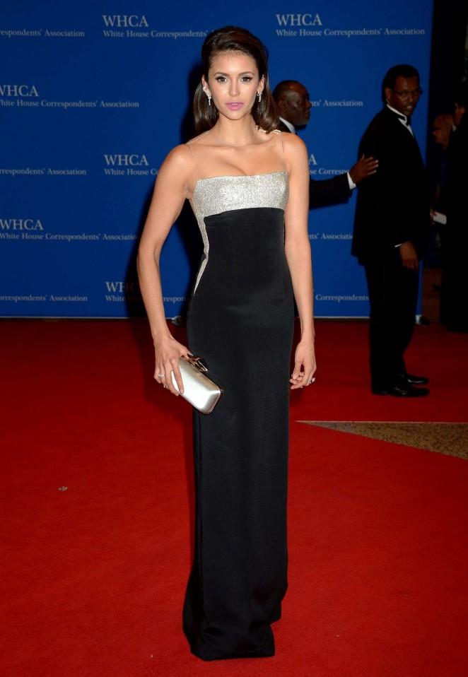 Nina Dobrev - White House Correspondents Dinner in Washington