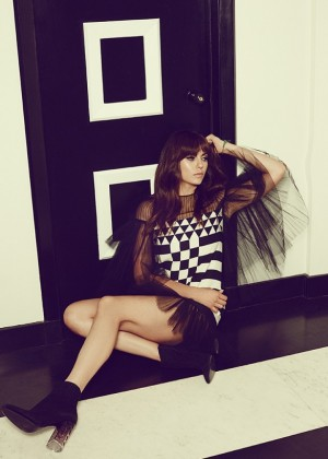 Nina Dobrev - WhoWhatWear Photoshoot