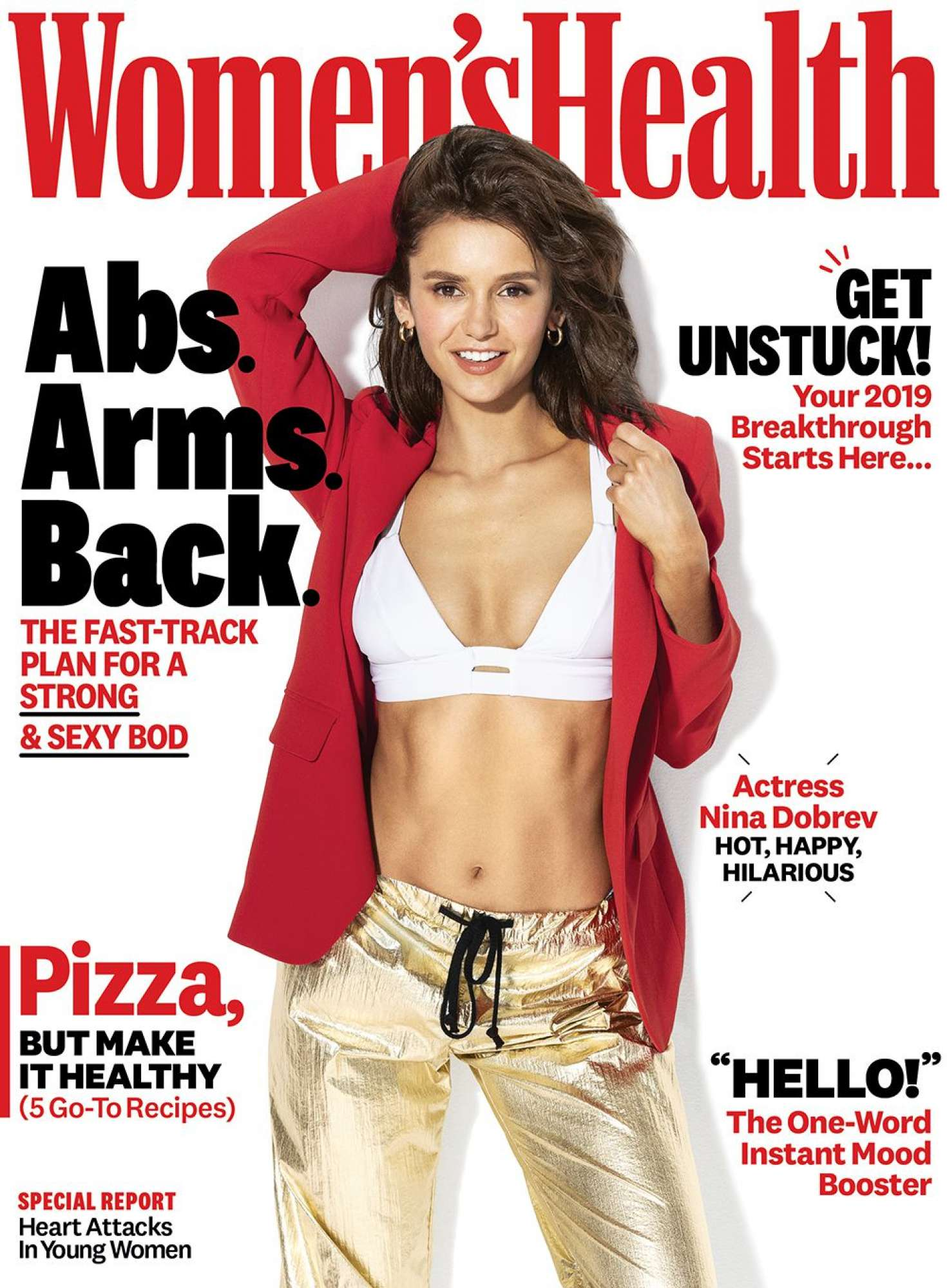 Nina Dobrev – Women's Health Magazine (January 2019)