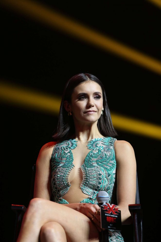 Nina Dobrev - 'xXx: Return Of Xander Cage' Premiere in Beijing