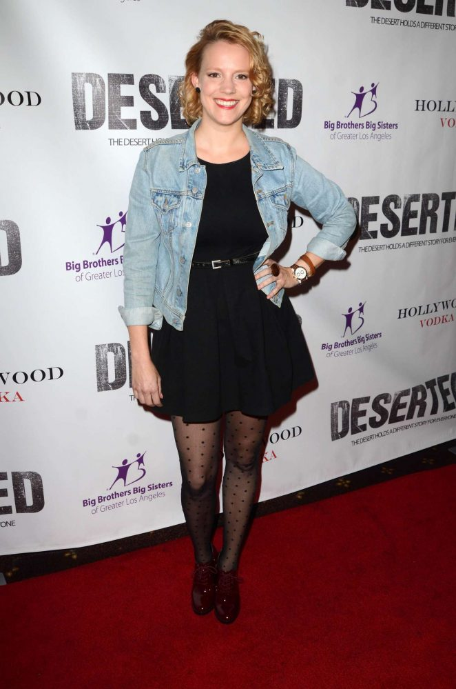 Nina Rausch - 'Deserted' Premiere in Westwood