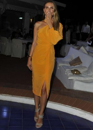 Nina Senicar - Ischia Global Festival Andrea Boccelli Humanitarian Awards Gala Dinner in Ischia