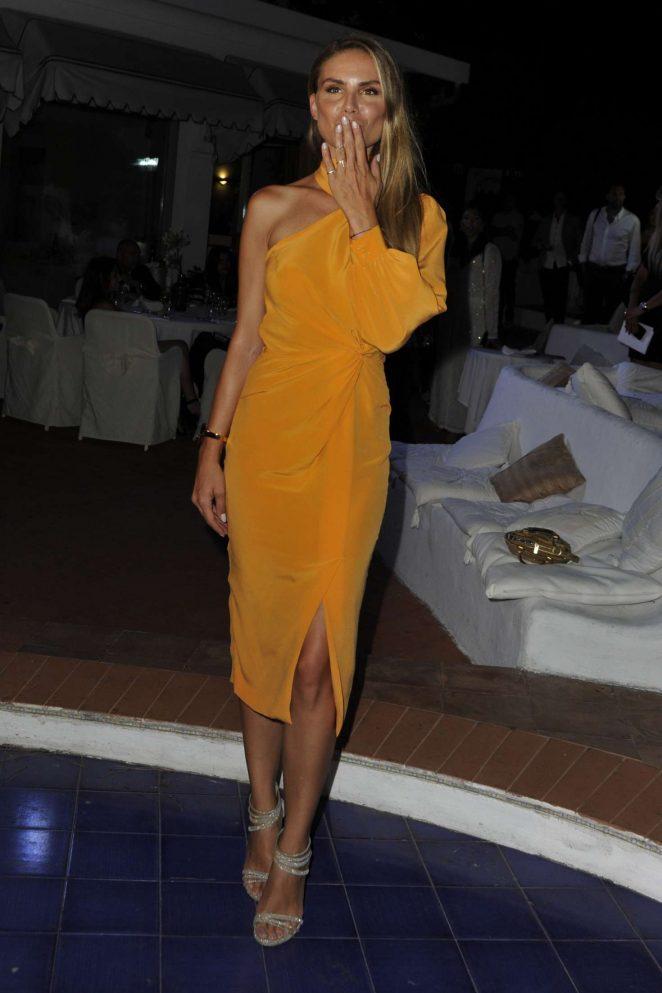 Nina Senicar – Ischia Global Festival Andrea Boccelli Humanitarian Awards Gala Dinner in Ischia