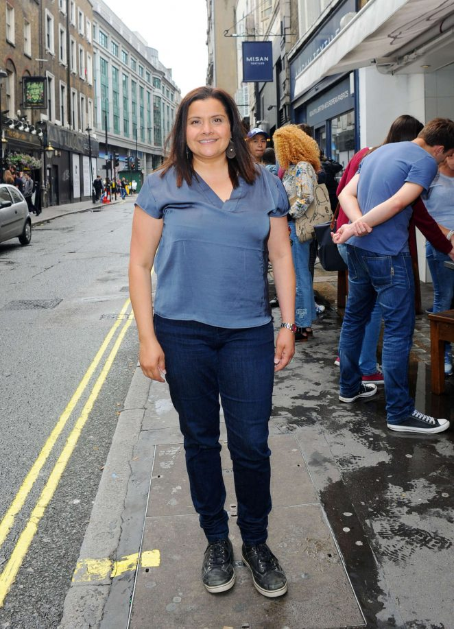 Nina Wadia - Leaving The Real Greek Book Launch Party in London