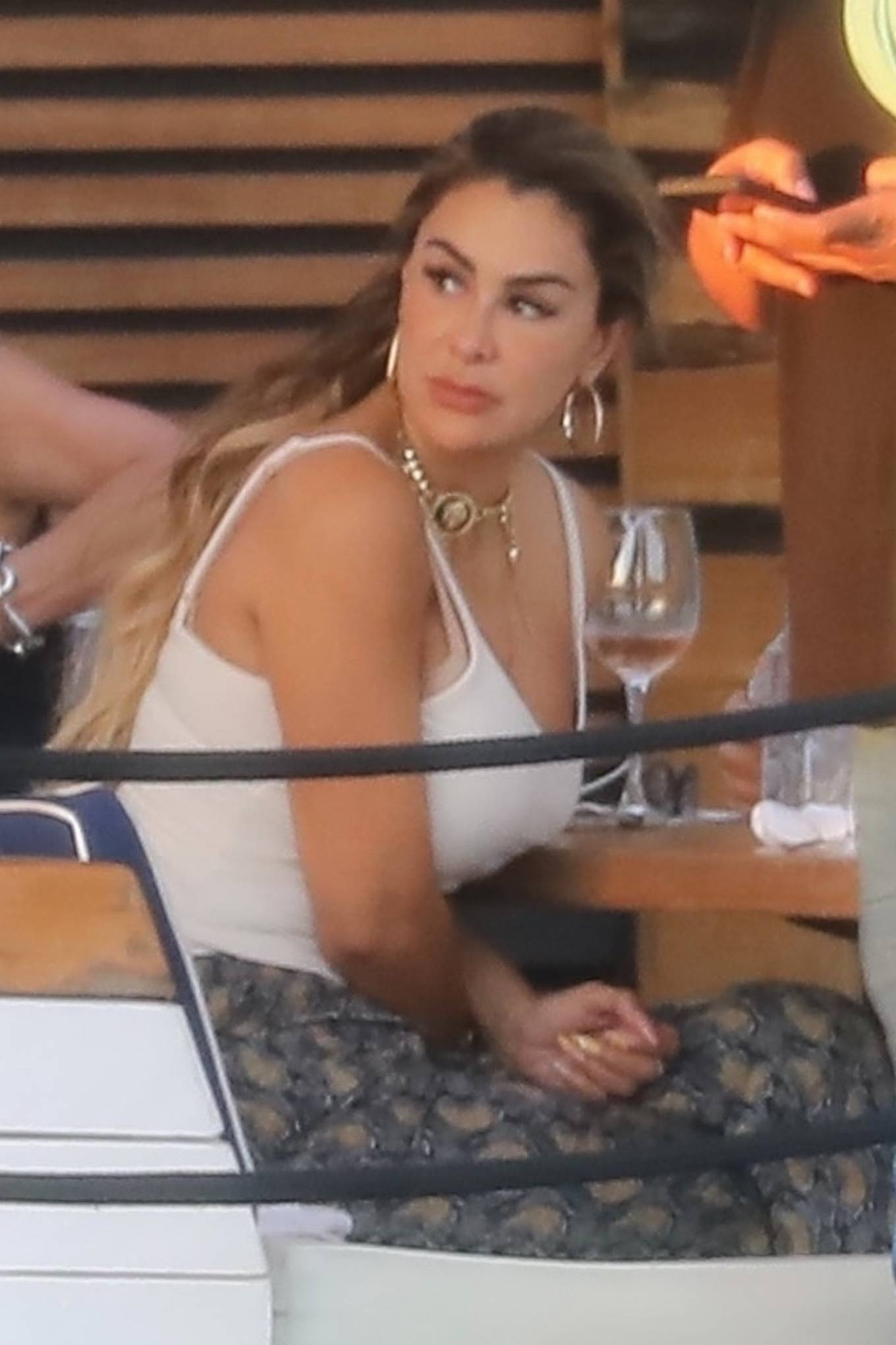 Ninel Conde 2021 : Ninel Conde – Lunch candids with friends in Miami-06