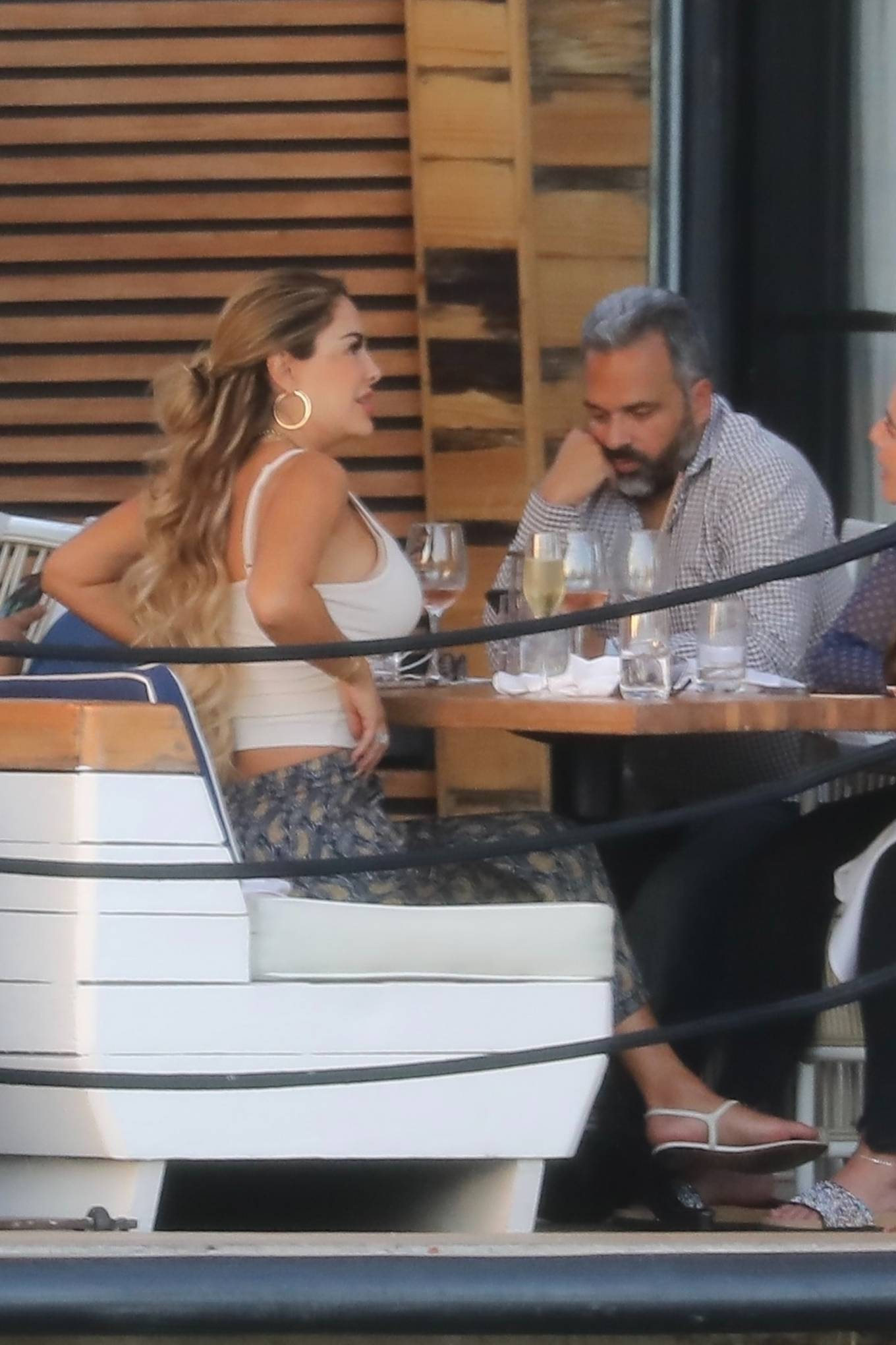 Ninel Conde 2021 : Ninel Conde – Lunch candids with friends in Miami-08