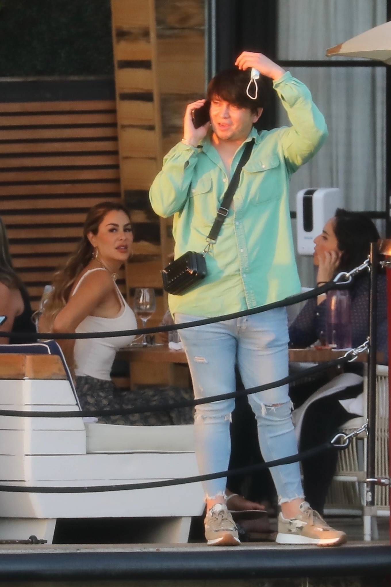 Ninel Conde 2021 : Ninel Conde – Lunch candids with friends in Miami-10
