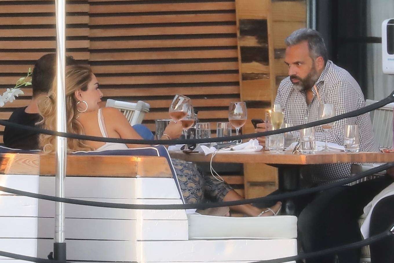 Ninel Conde 2021 : Ninel Conde – Lunch candids with friends in Miami-11
