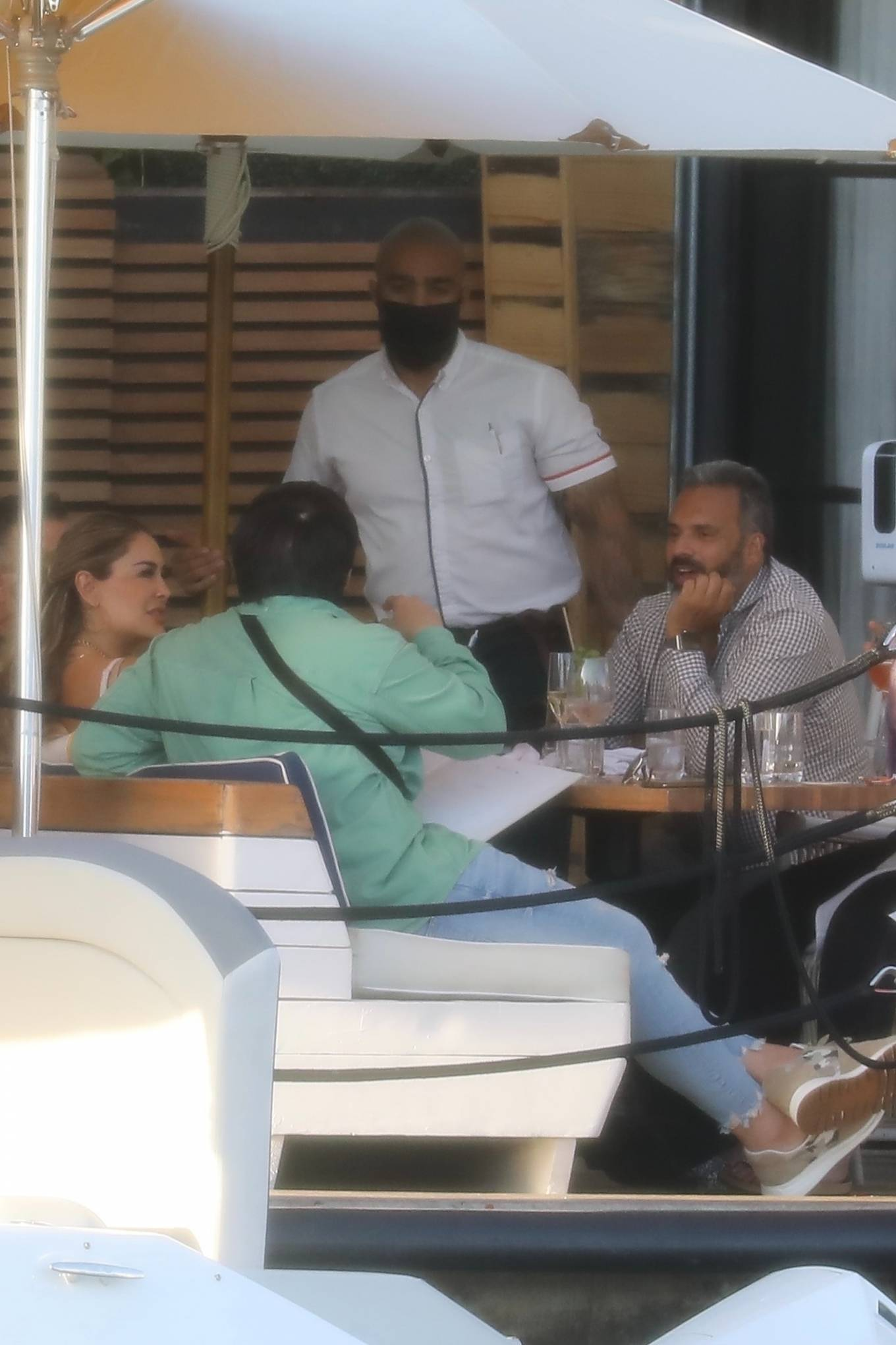 Ninel Conde 2021 : Ninel Conde – Lunch candids with friends in Miami-12
