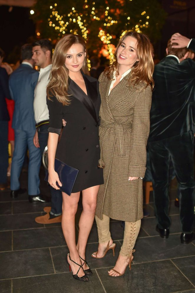 Niomi Smart and Kelly Eastwood - Tatler's Little Black Book Party in London