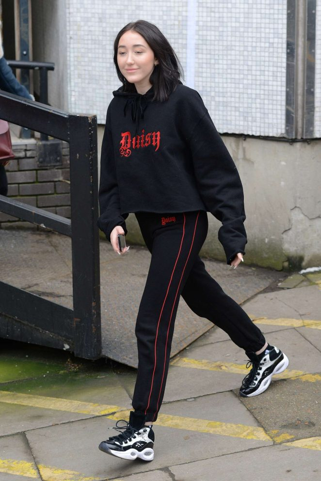 Noah Cyrus at ITV Studios in London