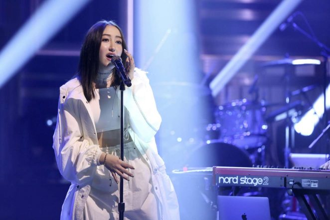 Noah Cyrus - 'The Tonight Show Starring Jimmy Fallon' in NYC
