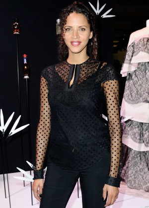 Noemie Lenoir - Rochas 90th Anniversary Cocktail at PFW SS 2016 in Paris
