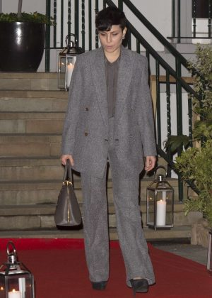Noomi Rapace at Hope and Homes For Children: End The Silence Gala Dinner in London