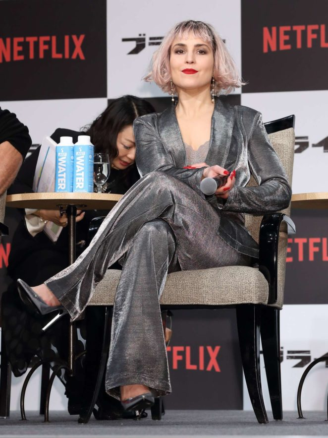 Noomi Rapace - 'Bright' Photocall in Tokyo