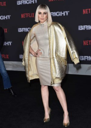 Noomi Rapace - 'Bright' Premiere in Los Angeles