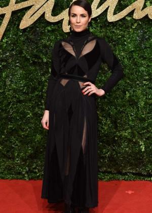 Noomi Rapace - British Fashion Awards 2015 in London