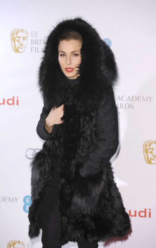 Noomi Rapace: EE British Academy Awards Nominees Party -01