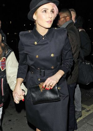 Noomi Rapace - Leaving British Vogue Fashion and Film Party 2018 in London