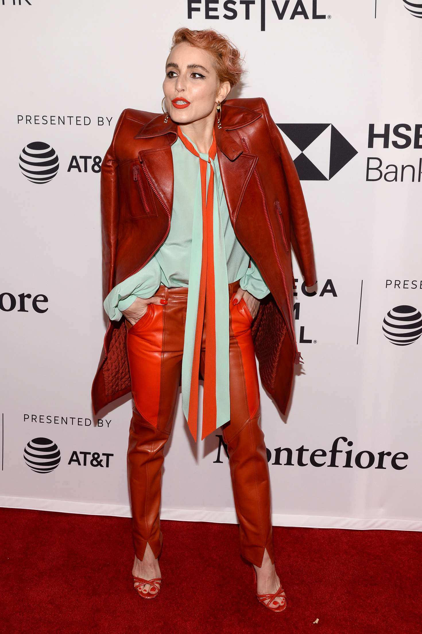 Noomi Rapace 2018 : Noomi Rapace: Stockholm Screening at 2018 Tribeca Film Festival -08