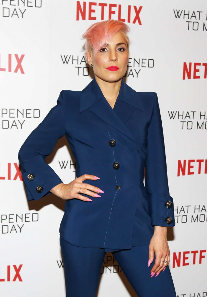 Noomi Rapace - 'What Happened to Monday?' Screening in Los Angeles