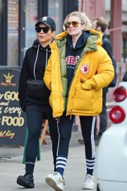 Noomi Rapace with a friend out in Notting Hill