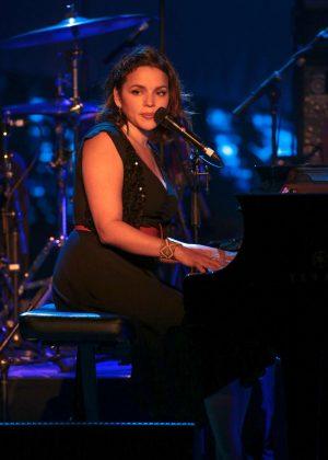 Norah Jones in concert at the Sebastopol theatre in Lille