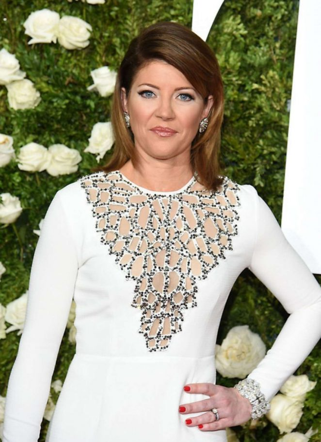 Norah O'Donnell - 2017 Tony Awards in New York City