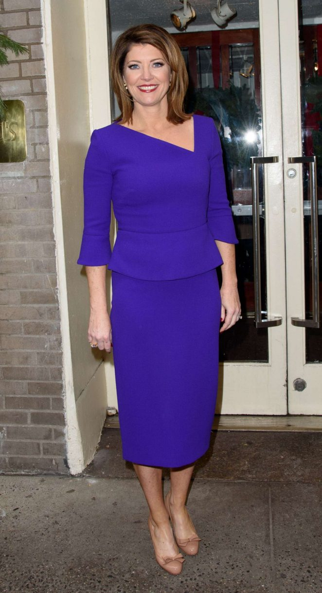 Norah O'Donnell - Cosmo's 100 Most Powerful Women Luncheon in New York