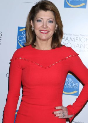 Norah O'Donnell - The Skin Cancer Foundation's 'Champions for Change' Gala in NY