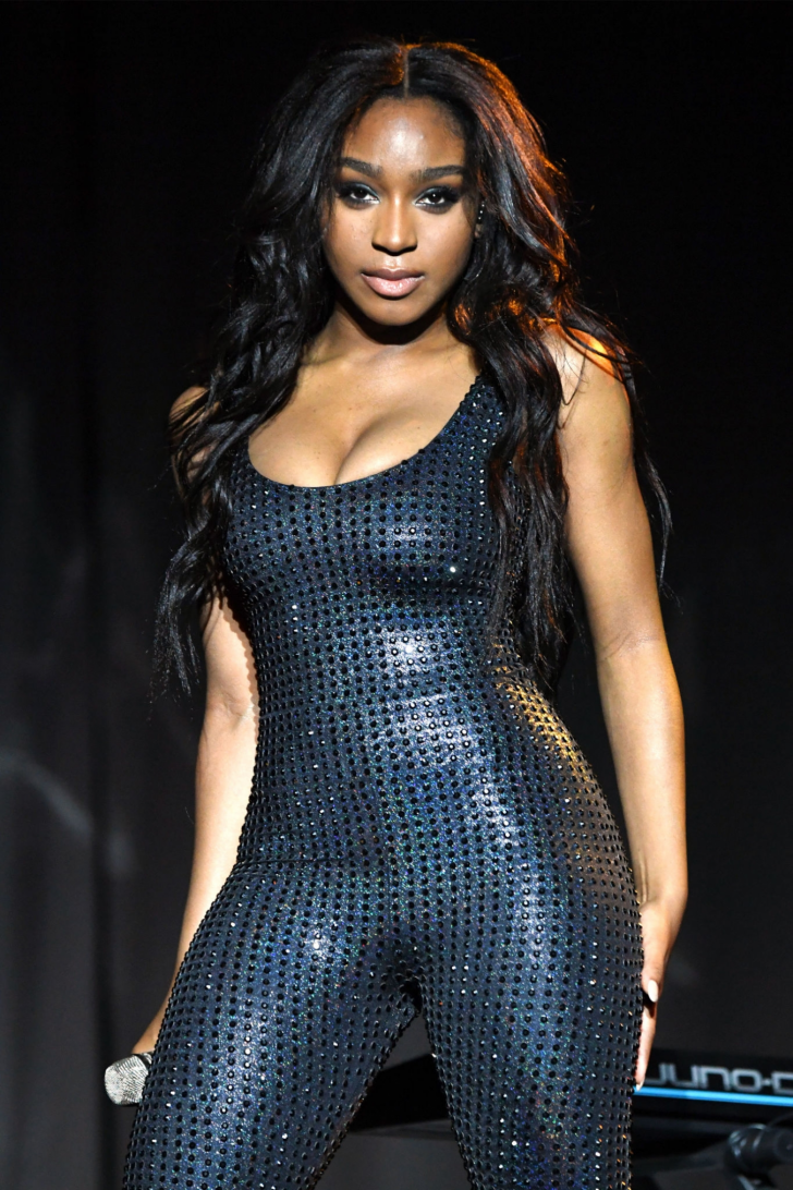 Normani Kordei - Performing on the Sweetener Tour by Ariana Grande in Albany