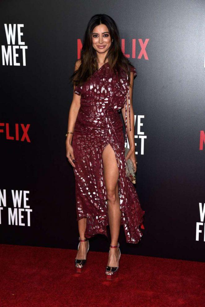 Noureen DeWulf – 'When We First Met' Premiere in Los Angeles