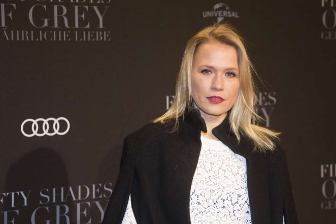 Nova Meierhenrich - 'Fifty Shades of Grey' Premiere in Hamburg