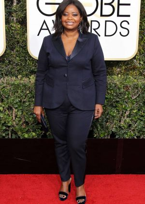 Octavia Spencer - 74th Annual Golden Globe Awards in Beverly Hills
