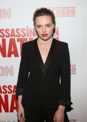 Odessa Young - 'Assassination Nation' Screening in New York