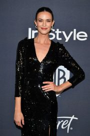 Odette Annable - 2020 InStyle and Warner Bros Golden Globes Party in Beverly Hills