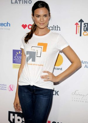 Odette Annable - 5th Biennial Stand Up To Cancer in Los Angeles