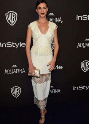 Odette Annable - InStyle and Warner Bros 2016 Golden Globe Awards Post-Party in Beverly Hills