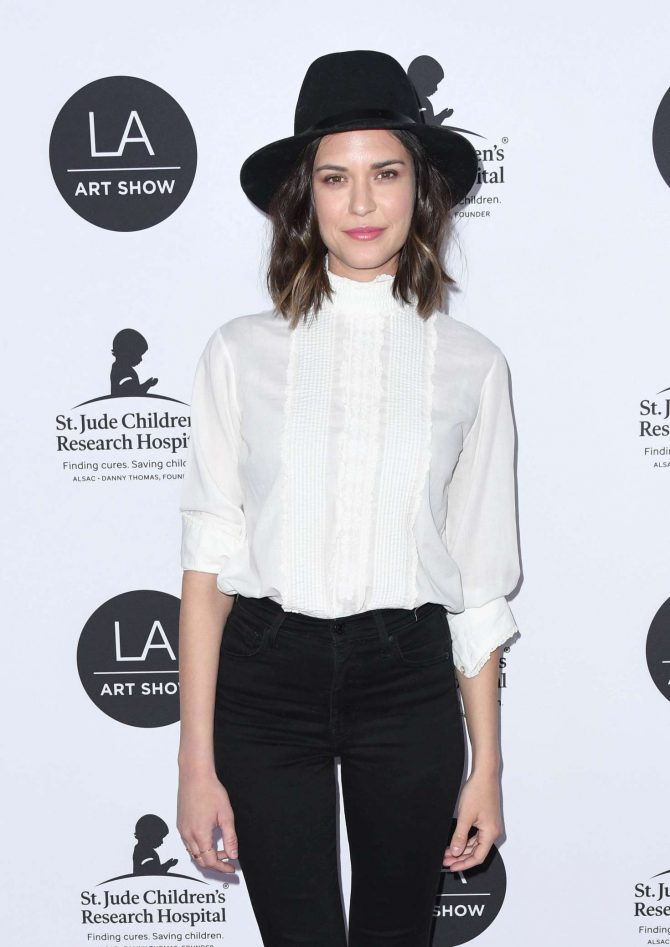 Odette Annable - LA Art Show Opening Night Gala in Los Angeles