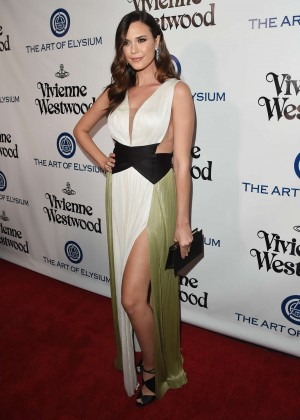 Odette Annable - The Art of Elysium 2016 HEAVEN Gala in Culver City