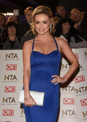 Ola Jordan - 2017 National Television Awards in London